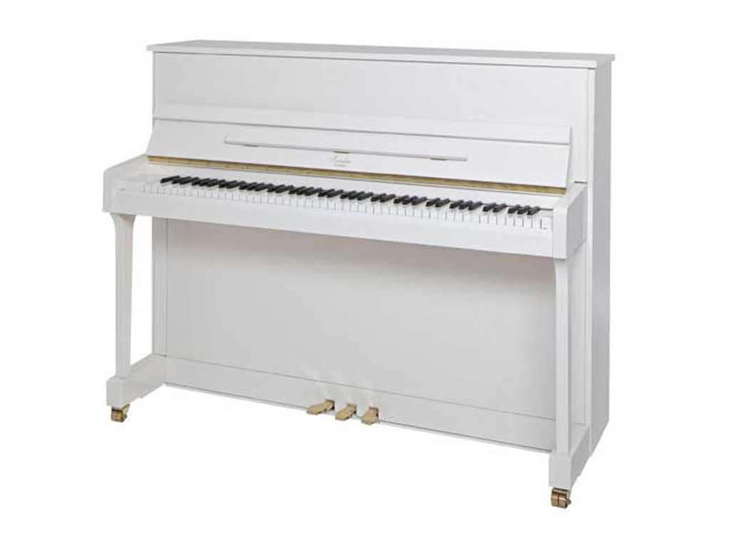 Irmler (From Bluthner) Piano P118 Upright Polished White